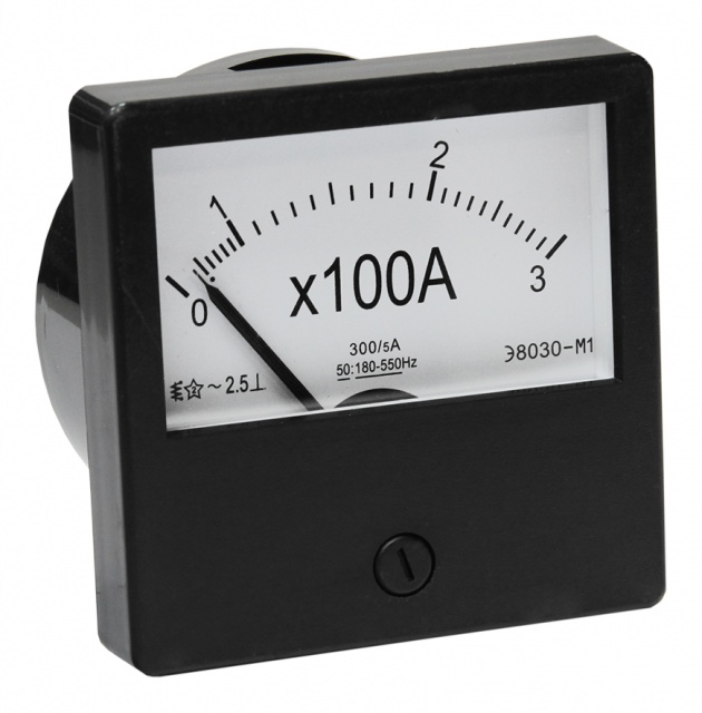 Амперметр Э-8030 М1 300/5 А PA830300 Texenergo