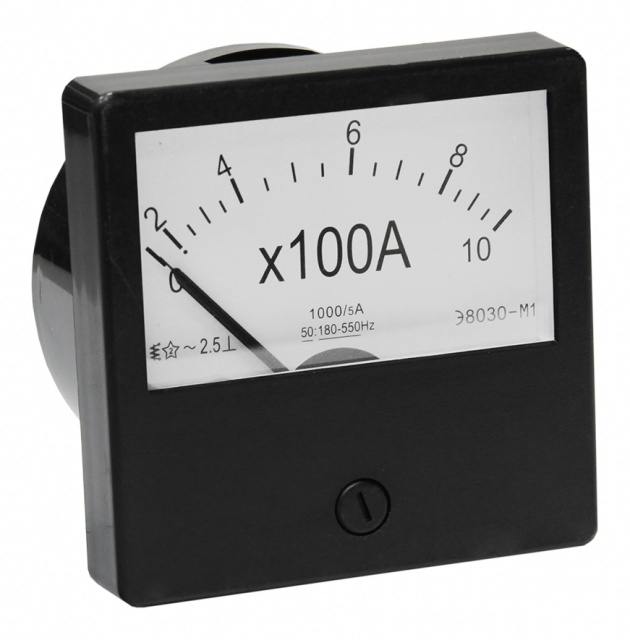 Амперметр Э-8030 М1 1000/5 А PA831000 Texenergo