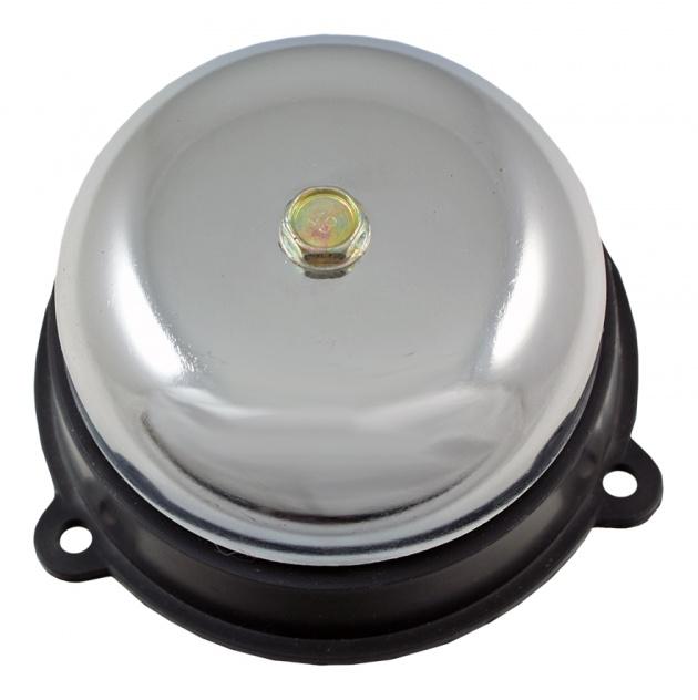 Звонок громкого боя МЗМ-1С 220АС 75мм цвет серебристый Texenergo AB1S075M Texenergo