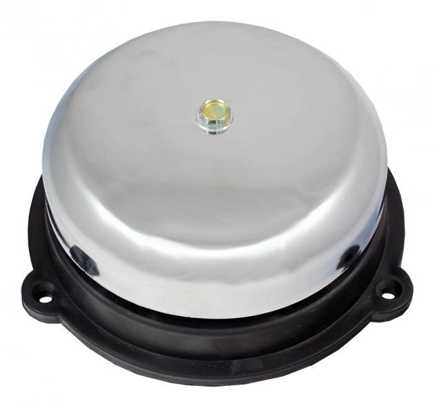 Звонок громкого боя МЗМ-1С 220АС 150мм цвет серебристый AB1S150M Texenergo