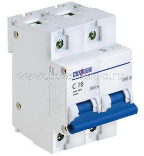 Автоматический выключатель ВА 67100 2п 80А D 10кА TAM210D080 Texenergo