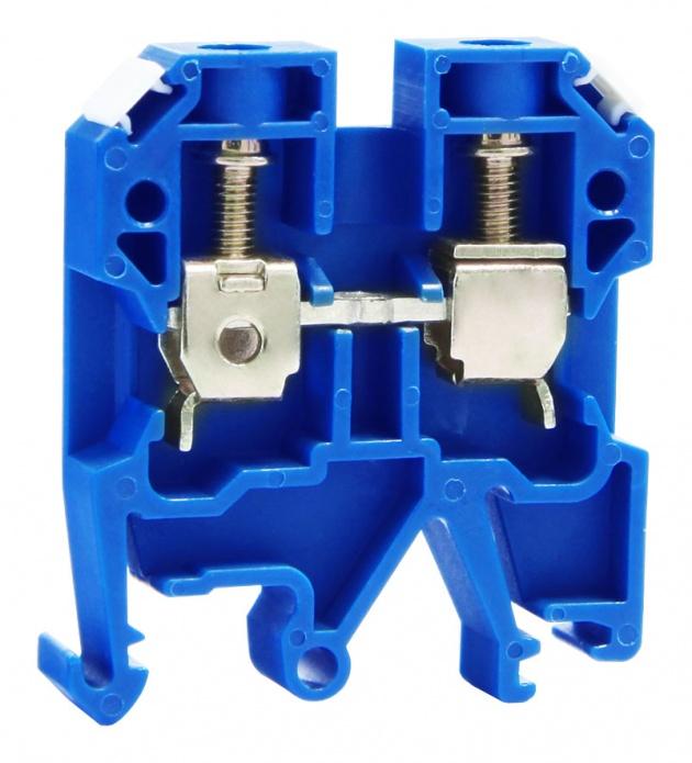 Клемма ЗНИ-6мм синяя ZN1-006-K07 Texenergo