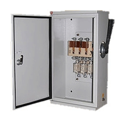 Ящик с рубильником ЯВЗ 100А IP54 без ПН-2 (ЯВЗ-32-54)  Без производителя