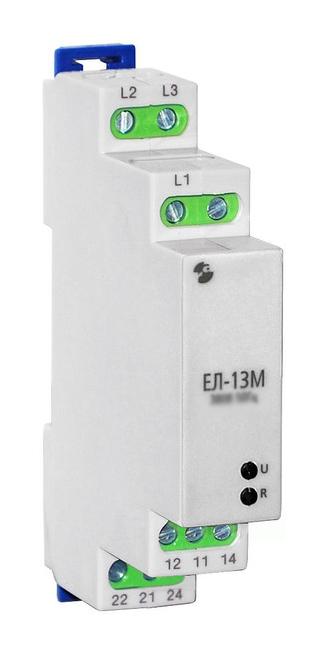 Реле контроля 3-фазной сети ЕЛ-13М-15 АС400В 200051623 Меандр