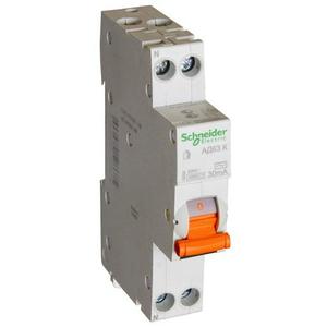 Дифавтомат АД63К 1п+N 10A/30мА AC C 4,5кА 12521 Schneider Electric