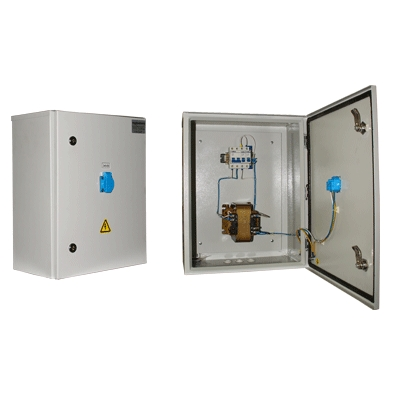 Ящик с трансформатором ЯТПО-3550-54УХЛ3 (ОСМ1-0,63) 220/12В IP54 ST02-063M012 Texenergo
