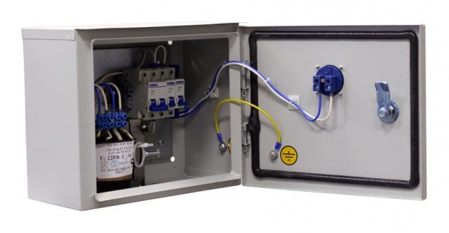 Ящик с трансформатором ЯТПО-3552-54УХЛ3 (ОСМ1-0,63) 220/36В IP54 ST02-063M036 Texenergo