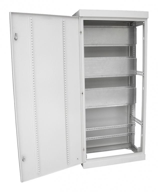 Корпус шкафа ВРУ-1 2000х600х450 IP31 без б/п RAL9001 E40-11-206045-31 Texenergo