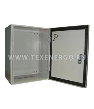 Щит с монтажной панелью ЩМП-01 400х220х155 IP54 Е20-15-402215-54 Texenergo