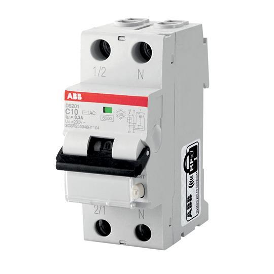 Выключатель авт.диф.т.DS201 C16 AC30 2CSR255040R1164 ABB