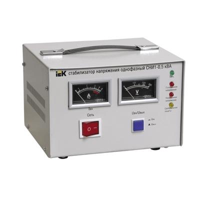 Стабилизатор напряжения СНИ1-0,5 кВА однофазный ИЭК IVS10-1-00500 IEK