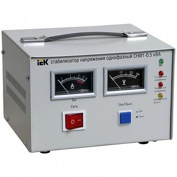Стабилизатор напряжения СНИ1-1,5 кВА однофазный ИЭК IVS10-1-01500 IEK