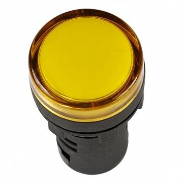 Лампа AD22DS(LED)матрица d22мм желтый 230В ИЭК BLS10-ADDS-230-K05 IEK