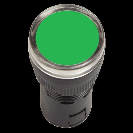 Индикатор AD22DS LED матрица d22мм зеленый 220В IEK BLS10-ADDS-230-K06 IEK