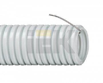 Труба гофр.ПВХ d 40 с зондом (15м) ИЭК CTG20-40-K41-015I IEK
