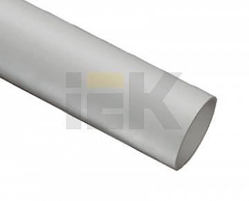 Труба гладкая жесткая ПВХ d40 ИЭК серая (24м),3м CTR10-040-K41-024I IEK