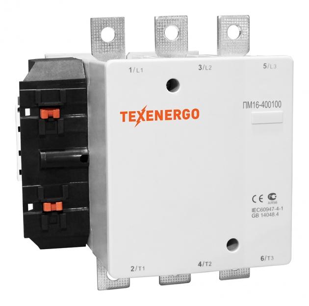 Пускатель элекромагнитный ПМ16-400100 380В PM1F400Q Texenergo
