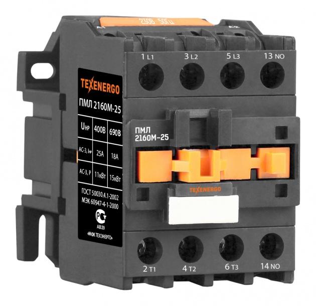 Пускатель электромагнитный ПМЛ 2160М 220В PM1L25MM Texenergo