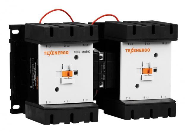 Пускатель электромагнитный реверсивный ПМ12-160500 220В PM2D160M Texenergo