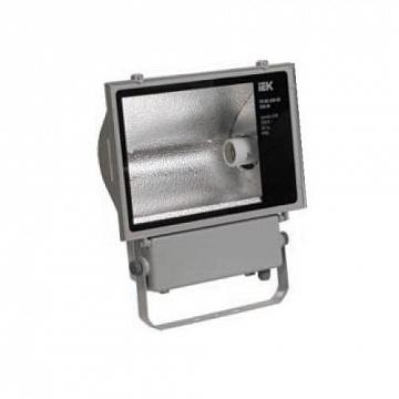 Прожектор металлогалогенный ГО03-400-01 400Вт цоколь E40 серый симметричный IP65 ИЭК LPHO03-400-01-K03 IEK