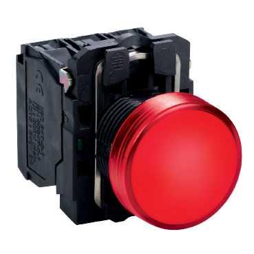 XB5 Лампа LED Красная 220В AC XB5AVM4 Schneider Electric