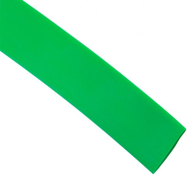 Термоусаживаемая трубка ТУТ 30/15 зеленая (по 1м) TT30-1-K06 Texenergo