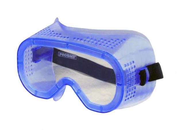 Очки защитные закрытые с прямой вентиляцией ЗП8