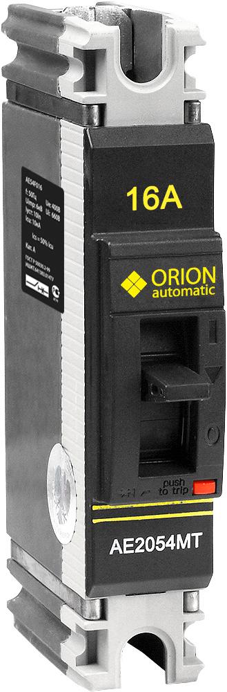 Автоматический выключатель АЕ 2054МТ 16А 660В 7.5кА AE54F016 Texenergo