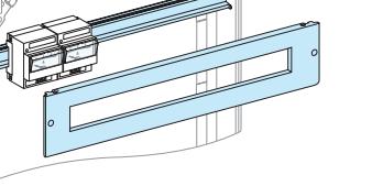 Передняя панель с вырезом, 3 модуля 03203 Schneider Electric