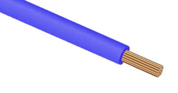 Провод монтажный ПуГВ (ПВ-3) 16 синий PV3I5 Россия