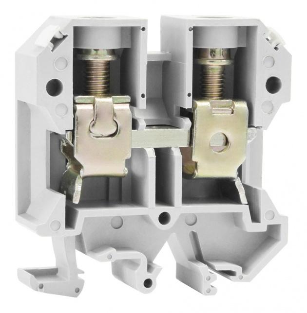 Клемма ЗНИ-35мм Серый ZN1-035-K03 Texenergo