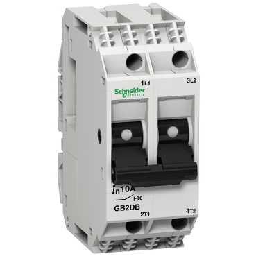 Автомат защиты цепи GB2 с комбинированным расцепителем 2 полюса 4А GB2DB09 Schneider Electric