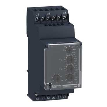 Реле контроля 3-фазной сети 114-329В 50/60Hz 2СО RM35UB3N30 Schneider Electric