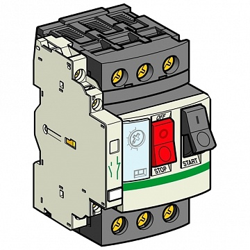 АВТ.ВЫКЛ. С КОМБ.РАСЦЕП.0,40-0,63А+КОН GV2ME04AN11TQ Schneider Electric