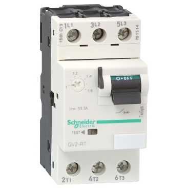Автомат защиты двигателя c высоким пусковым током GV2 1-1,6A GV2RT06 Schneider Electric