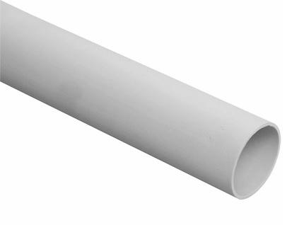 Труба ПВХ жесткая 50 мм легкого типа (L=3 м)  Промрукав