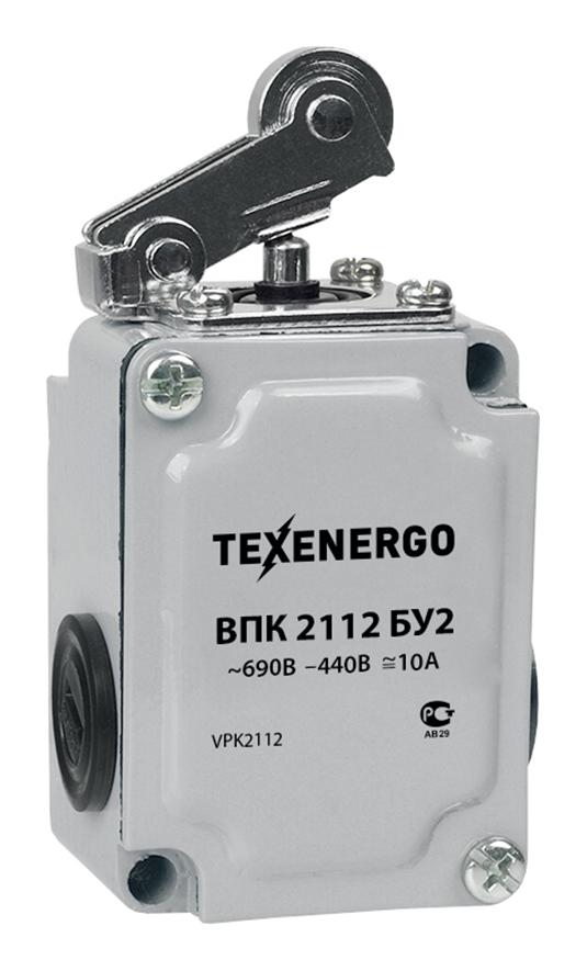 Выключатель путевой ВПК 2112 БУ2 VPK2112 Texenergo