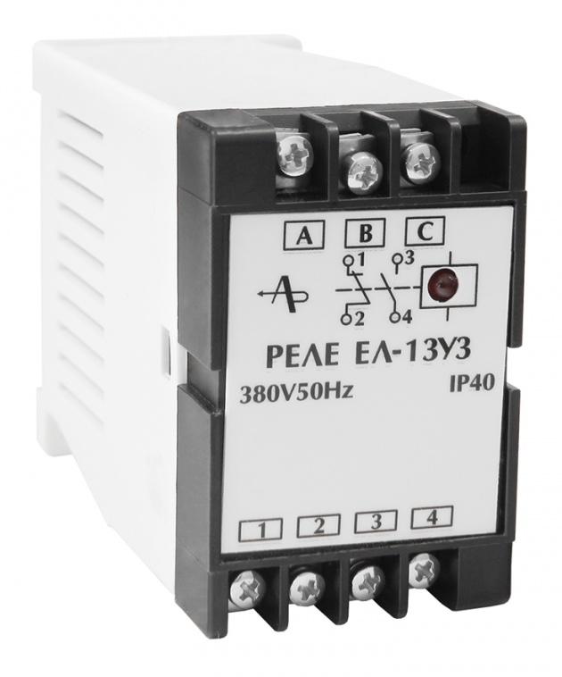 Реле контроля 3-фазной сети ЕЛ-13 380В 50Гц  Реле и автоматика