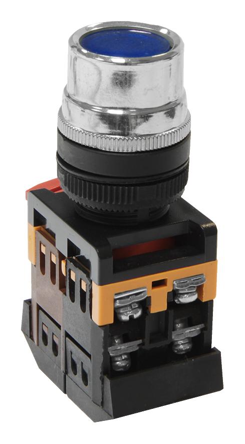 Кнопка управления ABLF-22 синяя с подсветкой Texenergo MFK-ABLF-230-07 Texenergo