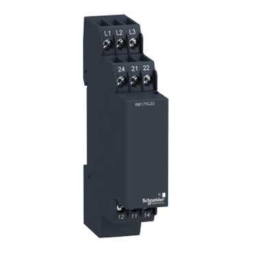 Реле контроля 3-фазной сети 183-528В 50/60Hz 2СО (Без подключения N, задержка на off 0,65c) RM17TG20 Schneider Electric