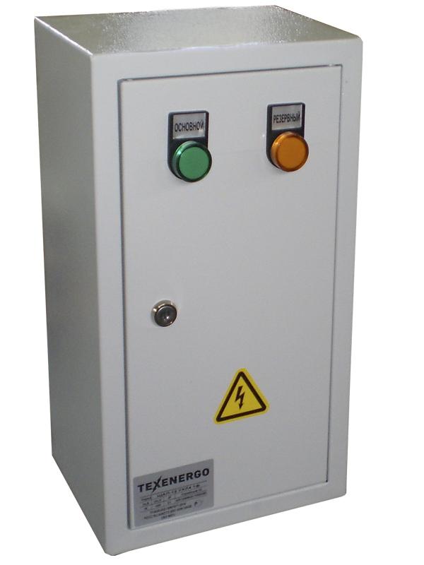 Щит автоматического ввода резерва ЩАП- 12 УХЛ4 1ф. 10А IP31 SAP11-1001-31 Texenergo