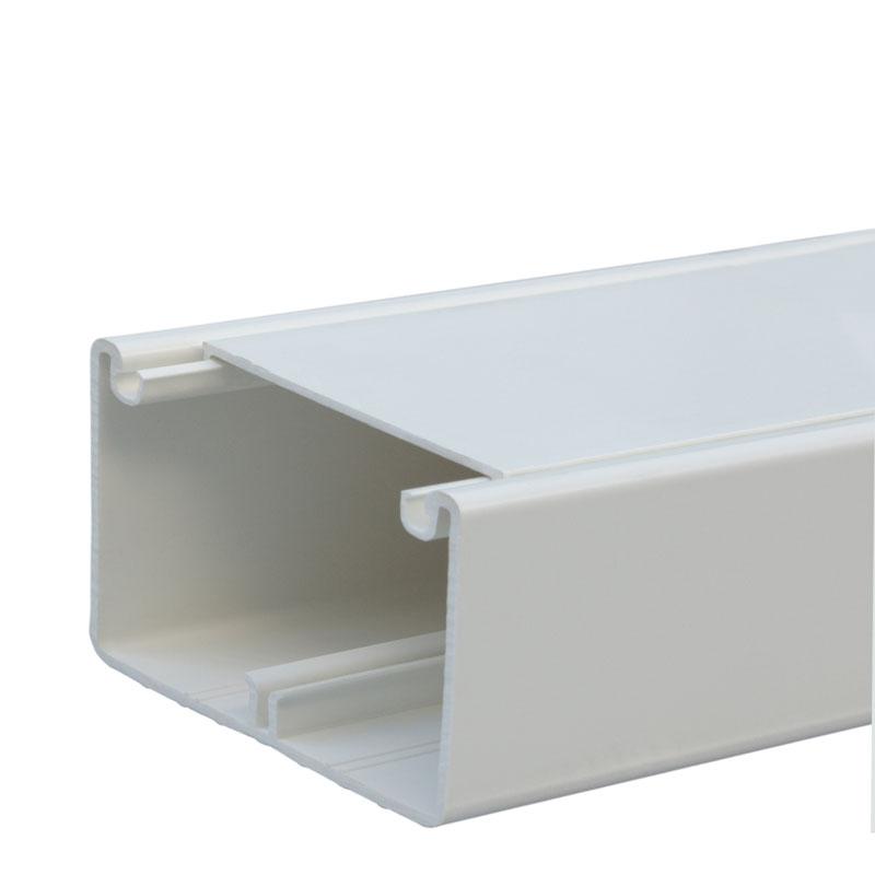 Кабель-канал DLP 50x80 - 1 секция - 1 крышка 65 мм - длина 2 м - белый 010419 Legrand