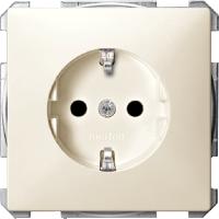 Механизм розетки С/З С/Ш, бежевый MTN2300-4044 Schneider Electric