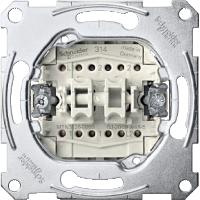 Механизм переключателя двухклавишного, схема 6+6 MTN3126-0000 Schneider Electric