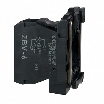 СИГН. БЛОК ДО 250В С КЛЕМ. ЗАЖ. ДЛЯ BA9S ZBV6 Schneider Electric