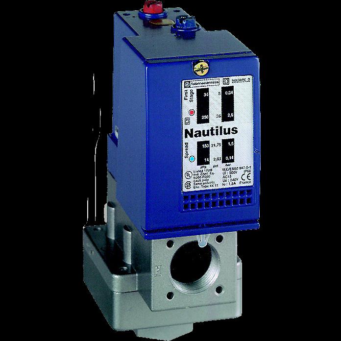 Выключатель давления OsiSense XMLA 10 бар 2C/O XMLD010B1S11 Schneider Electric