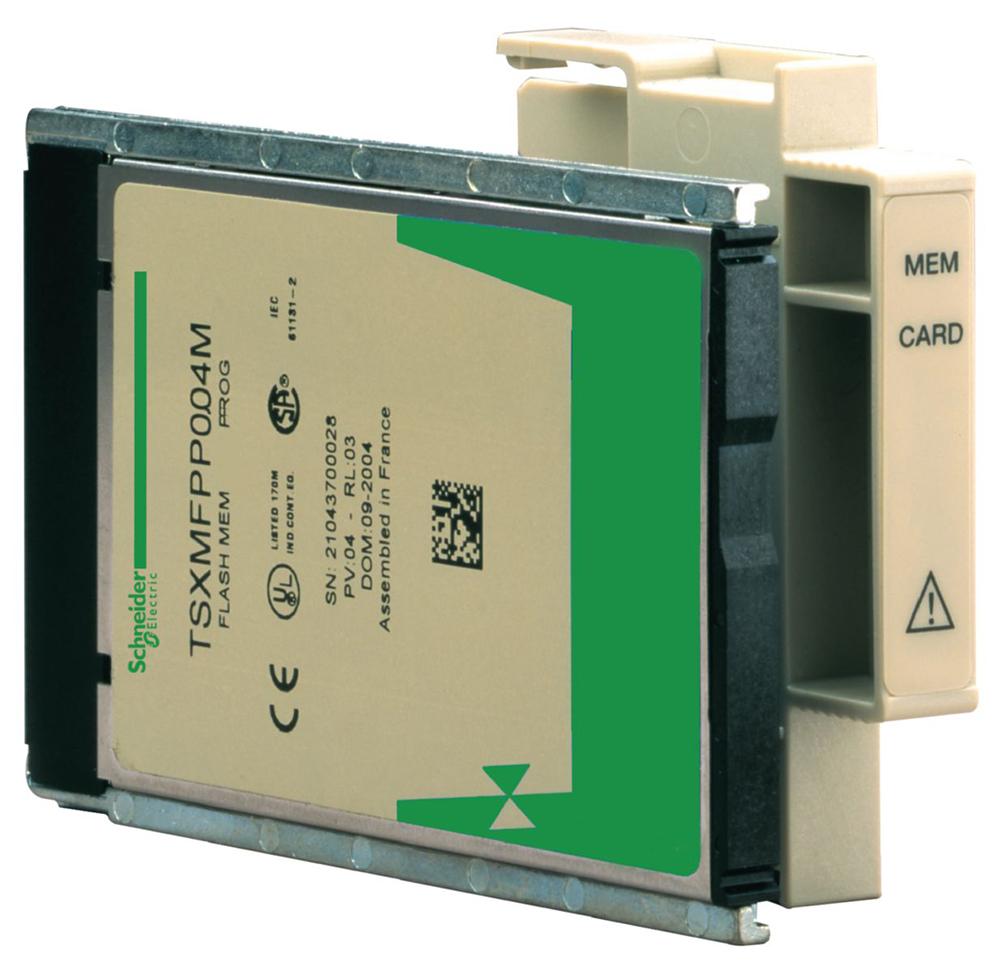 PCMCIA КАРТА 192K RAM ПРИКЛАДНОЙ ПРОГРАММЫ, 256K RAM ХРАНЕНИЯ ДАННЫХ TSXMRPC448K Schneider Electric