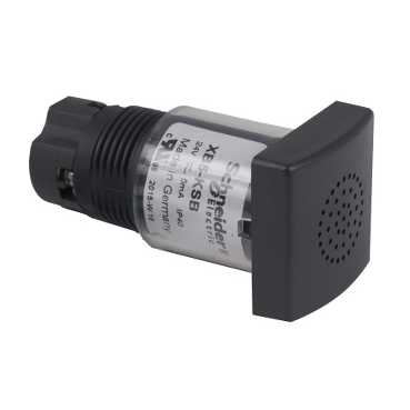 ЗВОНОК 85ДБ 22ММ 12-24 Vdc or Vac, 50/60 Hz XB5KSB Schneider Electric