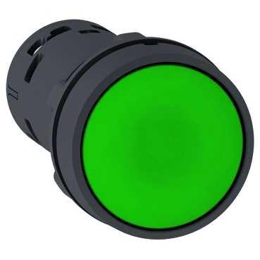 XB7 Кнопка зеленая с возвратом 1но XB7NA31 Schneider Electric