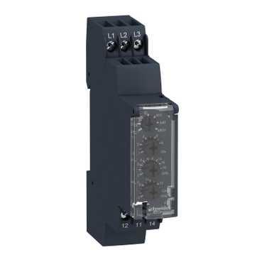 Реле контроля 3-фазной сети 183-528В 50/60Hz 1СО (Без подключения N) RM17TE00 Schneider Electric